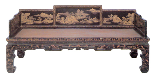 雍正时期的杉木家具,包括床(攽床,矮床,架子床),八仙桌(方桌,膳桌)