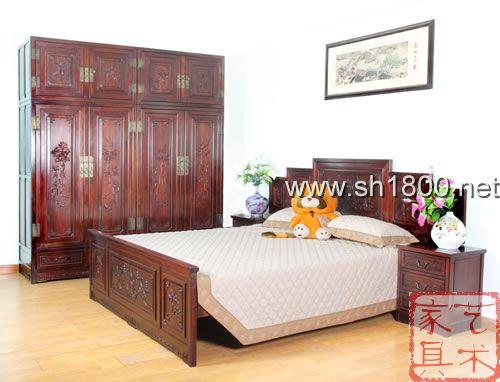 艺雕红木 卧房家具