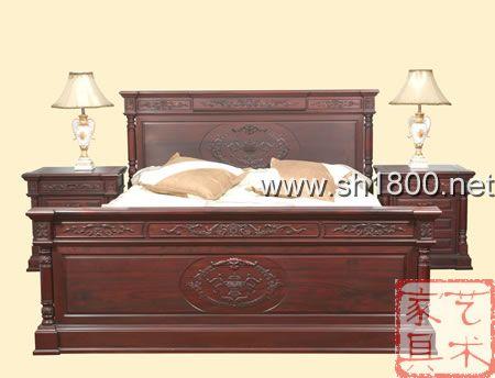锦翔红木 卧房红木家具