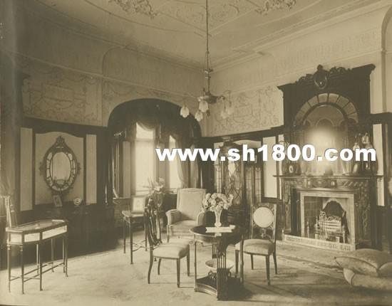 旧上海住宅室内家具陈设