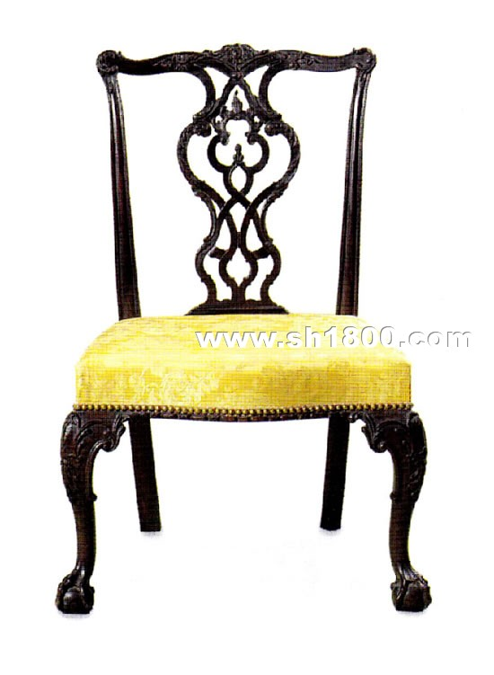 图1 齐彭代尔式椅子