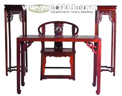 三新红木书房家具