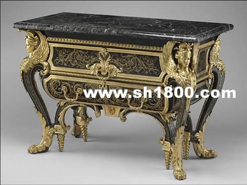 从凡尔赛宫走进路易十四式巴洛克家具(中)