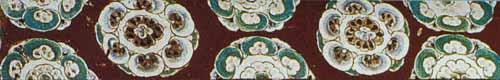 图7 敦煌壁画中的花纹图案s图片